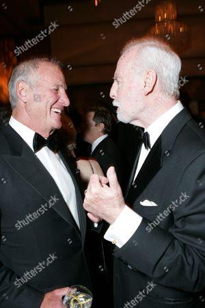 Producer Jerry Weintraub and Leonard Goldberg