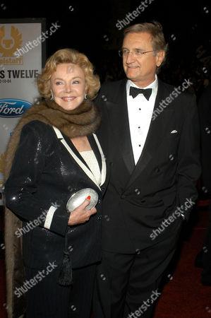 Barbara Sinatra with guest