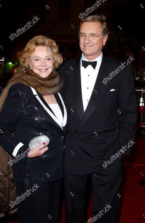 Barbara Sinatra and son Robert Marx