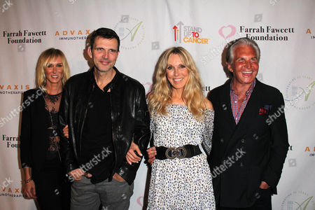 Kimberly Stewart, Ashley Hamilton, Alana Stewart, George Hamilton