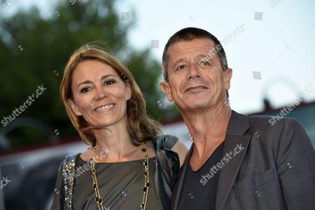 Stock Image of Emmanuel Carrere, Helene Devynck