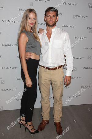 Alex Pettyfer and girlfriend Marloes Horst