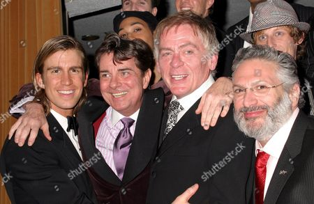 Gavin Creel, Gary Beach, Daniel Davis, Harvey Fierstein