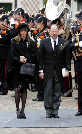Stock Image of Princess Miriam Ungria and Prince Kardam