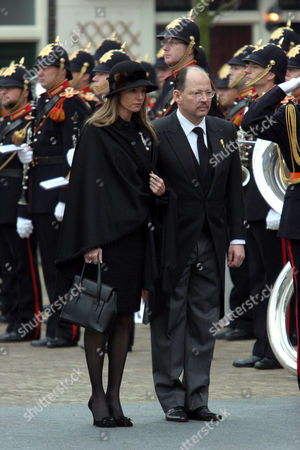 Editorial image of THE FUNERAL OF PRINCE BERNHARD, DELFT, NETHERLANDS - 11 DEC 2004