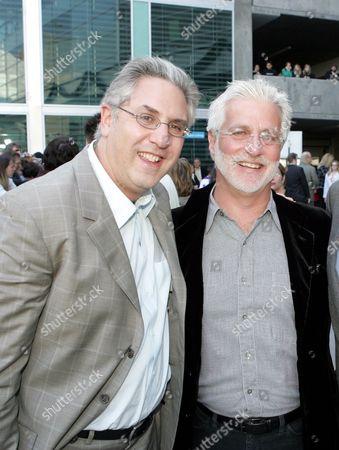 Nickelodeon's Albie Hecht and Paramount's Robert Friedman