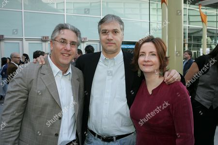 Albie Hecht, Herb Scannell, Julia Pistor