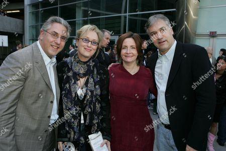 Albie Hecht, Meryl Streep, Julia Pistor, Herb Scannell