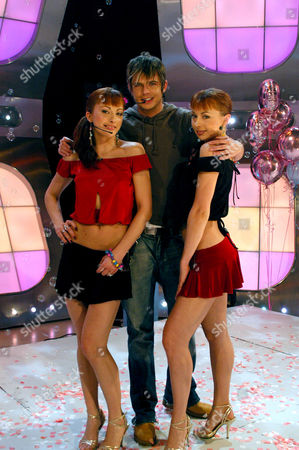 The Cheeky Girls and Andy Newton Lee