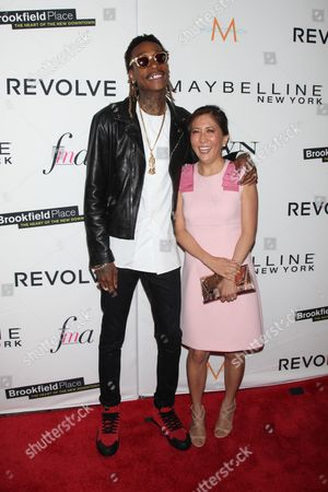 Wiz Khalifa and Janice Min