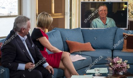 Stock Photo of Eamonn Holmes and Ruth Langsford interview David Cassidy (Live from his Florida mansion)