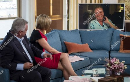 Editorial image of 'This Morning' TV Programme, London, Britain - 11 Sep 2015