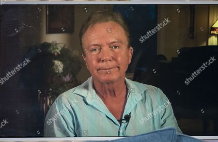 Stock Picture of Eamonn Holmes and Ruth Langsford interview David Cassidy (Live from his Florida mansion)
