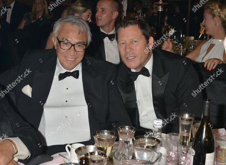 Sir David Tang and Arpad Busson