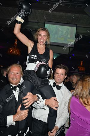 Editorial image of Boodles Boxing Ball in aid of The Gordon Ramsay Foundation, Grosvenor House, London, Britain - 12 Sep 2015