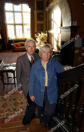 Sir James and Lady Graham of Norton Conyers where a hole in the panelling led to the discovery of a door and stairs