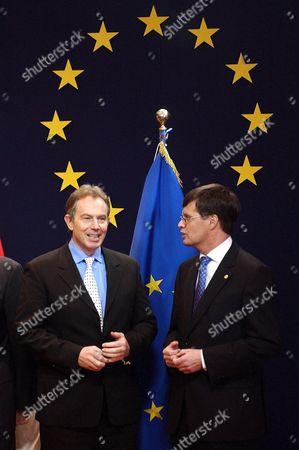 Tony Blair and Jan Peter Balkenende - 16 Dec