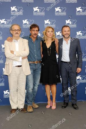 Stock Picture of Valeria Golino, Massimiliano Gallo, Adriano Giannini, Giuseppe M. Gaudino