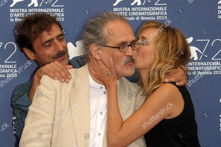 Stock Image of Valeria Golino, Adriano Giannini, Giuseppe M. Gaudino