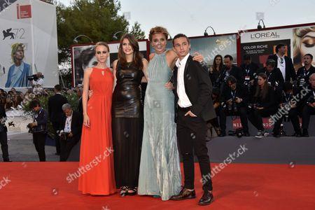 Stock Image of Valeria Golino, Elisabetta Mirra, Edoardo Cro ', Daria D'Isanto
