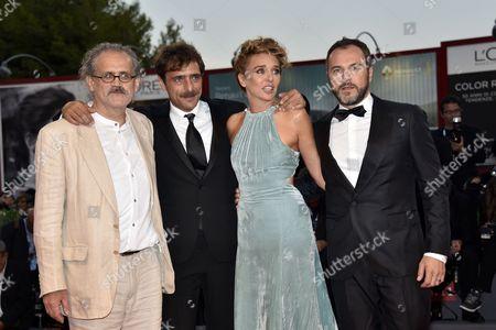 Giuseppe Gaudino, Valeria Golino, Massimiliano Gallo, Adriano Giannini