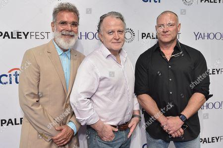 John P Kousakis (Executive Producer), R. Scott Gemmill (Executive Producer) and Shane Brennan (Creator and Executive Producer)