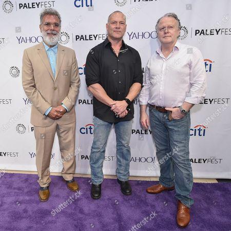 John P Kousakis, Executive Producer, Shane Brennan, creator and Executive Producer, and R. Scott Gemmill, executive Producer