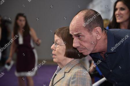 Linda Hunt and Miguel Ferrer