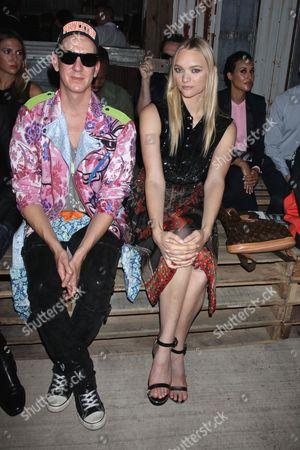 Jeremy Scott and Gemma Ward