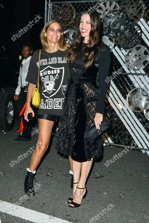 Stock Image of Frankie Rayder and Liv Tyler
