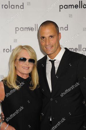 L-R: Pamella DeVos, Nigel Barker