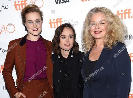 Evan Rachel Wood, Elliot Page, Patricia Rozema
