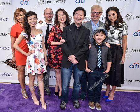 Tisha Campbell-Martin, Krista Marie Yu, Jonathan Slavin, Suzy Nakamura, Ken Jeong, Dave Foley, Albert Tsai and Kate Simses