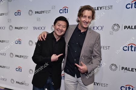 Ken Jeong and Mike Sikowitz