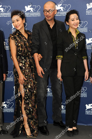 Editorial photo of 'Mr Six' film premiere and Closing Ceremony, 71st Venice International Film Festival, Italy - 12 Sep 2015