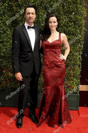 Annie Wersching and Stephen Full