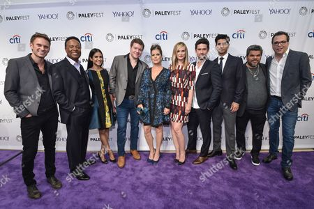 Stock Picture of Ryan McGarry Executive Producer, William Allen Young, Melanie Chandra, Harry M. Ford, Marcia Gay Harden, Bonnie Somerville, Benjamin Hollingsworth, Raza Jaffrey, Luis Guzman, Michael Seitzman Executive Producer