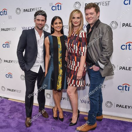 Stock Picture of Benjamin Hollingsworth, Melanie Chandra, Bonnie Somerville and Harry M. Ford