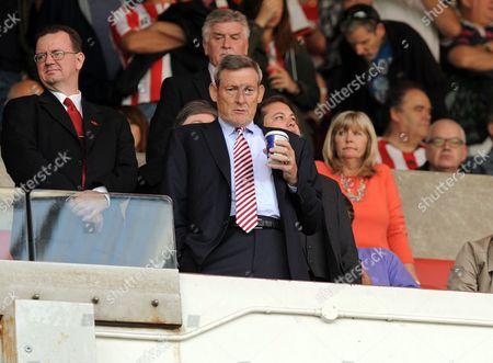 Owner Ellis Short of Sunderland before the Barclays Premier League match between Sunderland and Tottenham Hotspur at the Stadium of Light, Sunderland