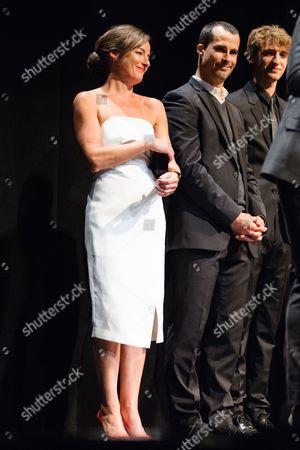 Pascale Bussières, Patrick Hivon, Aliocha Schneider
