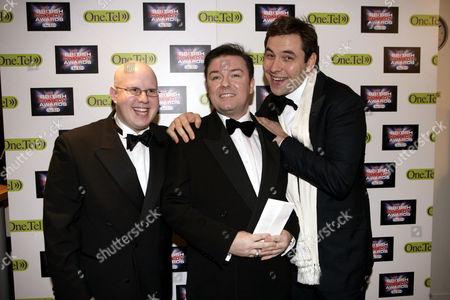 Matt Lucas, Ricky Gervais and David Walliams