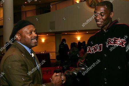 Coach Ken Carter and Nana Gbewonyo