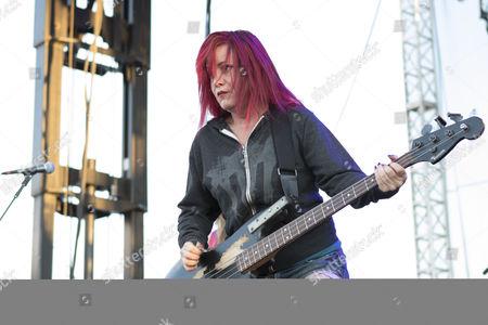 Stock Image of Jennifer Finch of L7