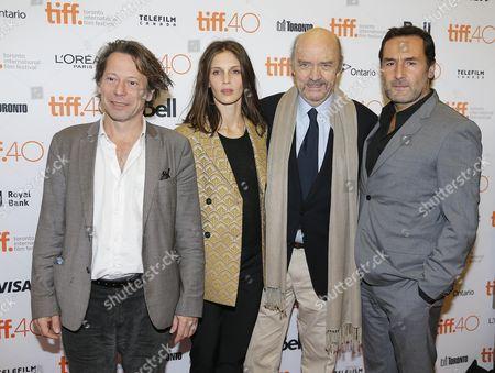 Mathieu Amalric, Marine Vacth, Jean Paul Rappeneau and Gilles Lellouche
