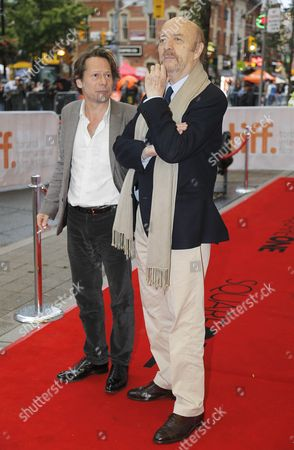 Jean Paul Rappeneau and Mathieu Amalric