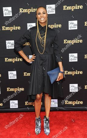 Editorial picture of 'Empire' TV Series, Season 2 cast celebrate at Saks Fifth Avenue, New York, America - 12 Sep 2015