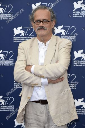 Stock Picture of The director Giuseppe Gaudino