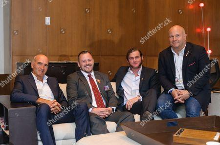 Paul Katis, Mark Stanley, Gareth Unwin, Paul Tug Hartley