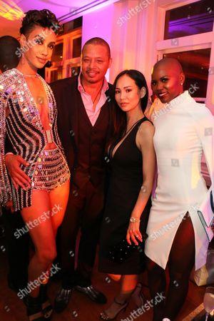 AzMarie Livingston & Terrence Howard & Mira Pak &