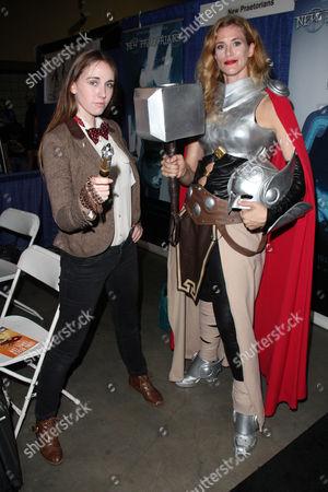Editorial image of Comic Con Day, Long Beach, California, America - 13 Sep 2015
